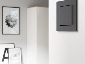 Универсальность черно–белого цвета от GIRA